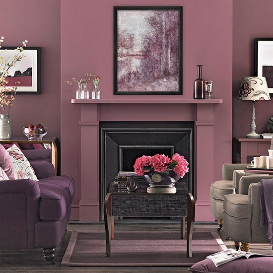 Best Plum Tones Living Room Living Room Decorating Housetohome Co Uk With Pictures