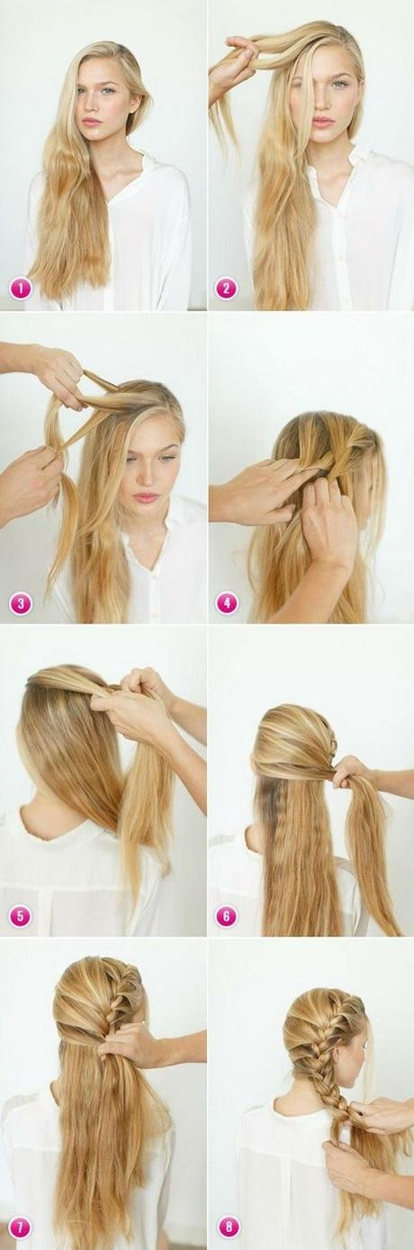 Free Quick And Easy Hairstyles For Long Thick Hair Wallpaper