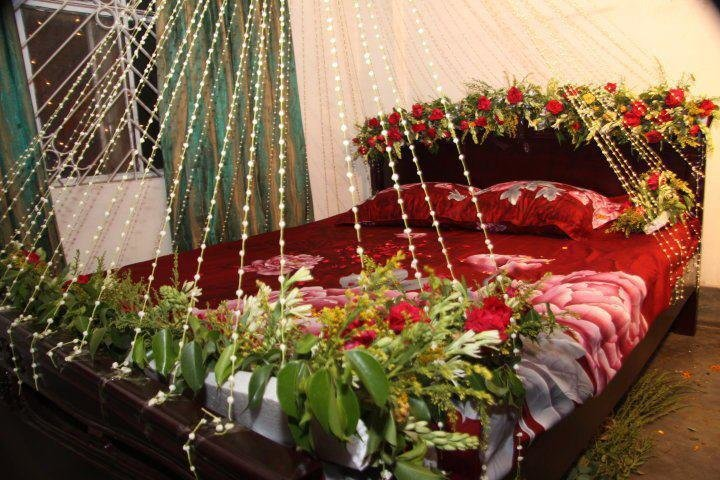 Best Bridal Wedding Bedroom Decoration Designs Ideas Pictures With Pictures