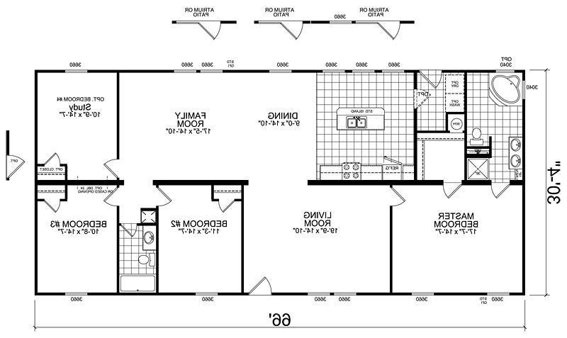 Best Manufactured Homes Floor Plans Photos With Pictures