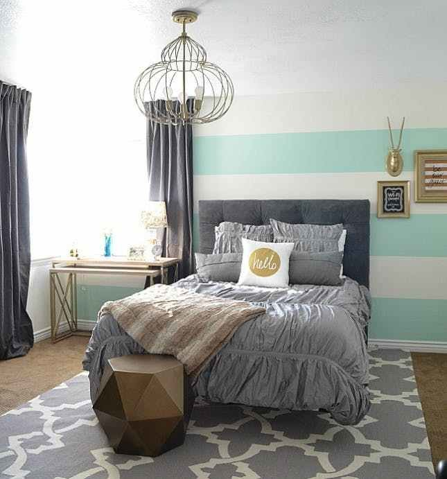 Best 24 Bold Ideas For Striped Walls Brit Co With Pictures
