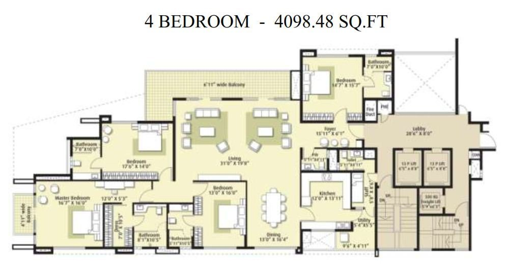Best Embassy Oasis Apartments Promenade Road Bangalore With Pictures