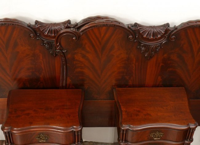 Best Chinese Chippendale Style Mahogany Bedroom Set Lot 51 With Pictures
