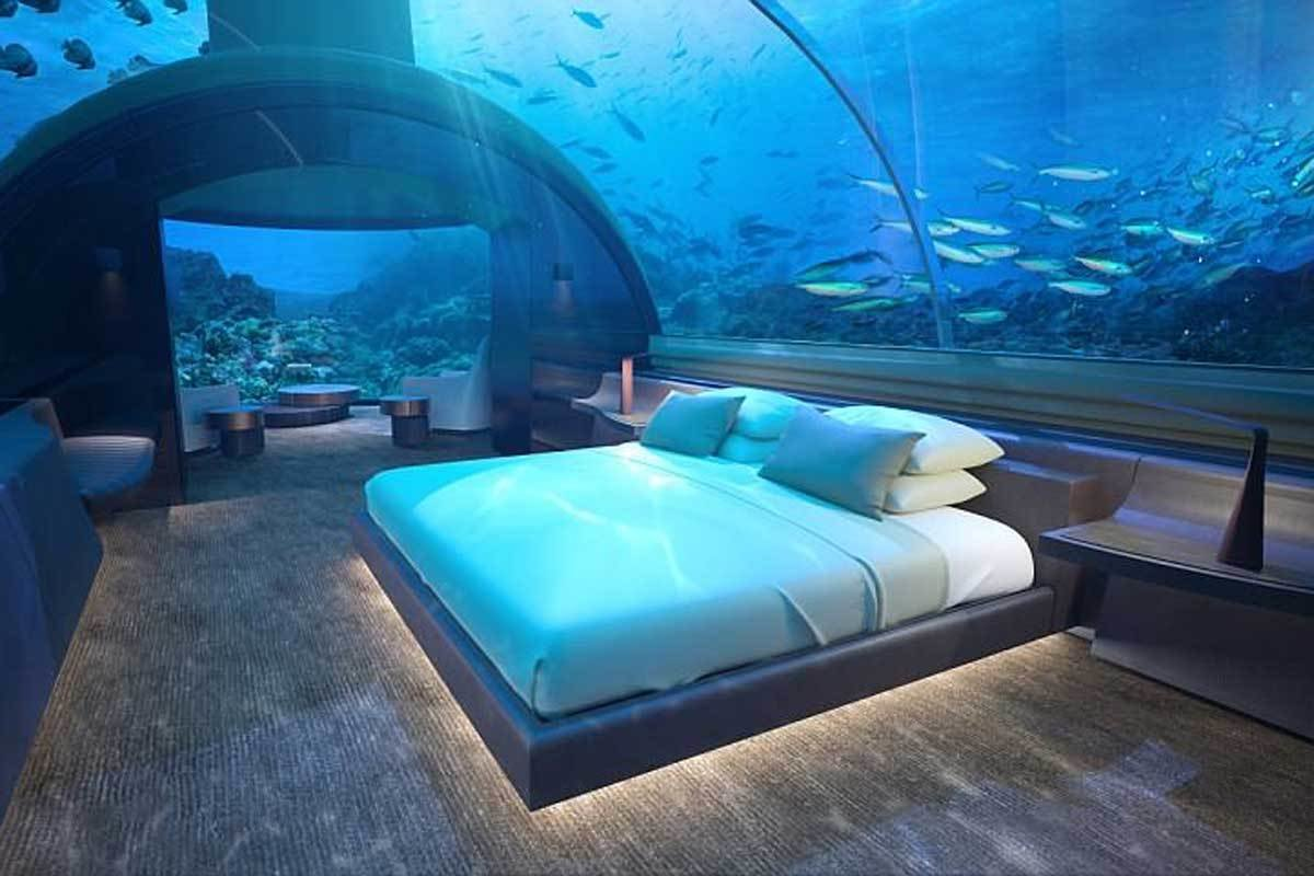 Best World's First Underwater Villa To Open In The Maldives With Pictures