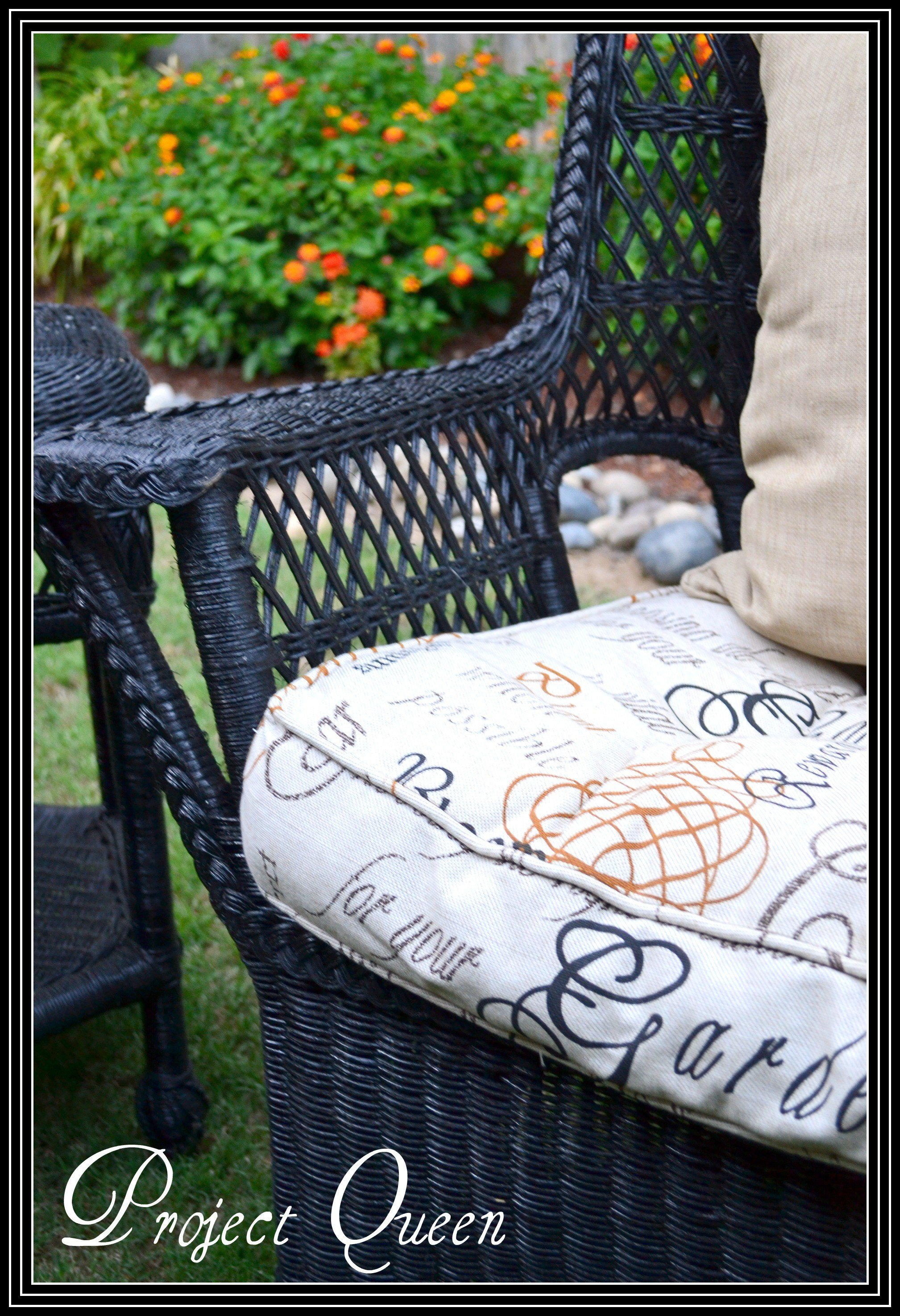 Best Painting Wicker Furniture With Pictures