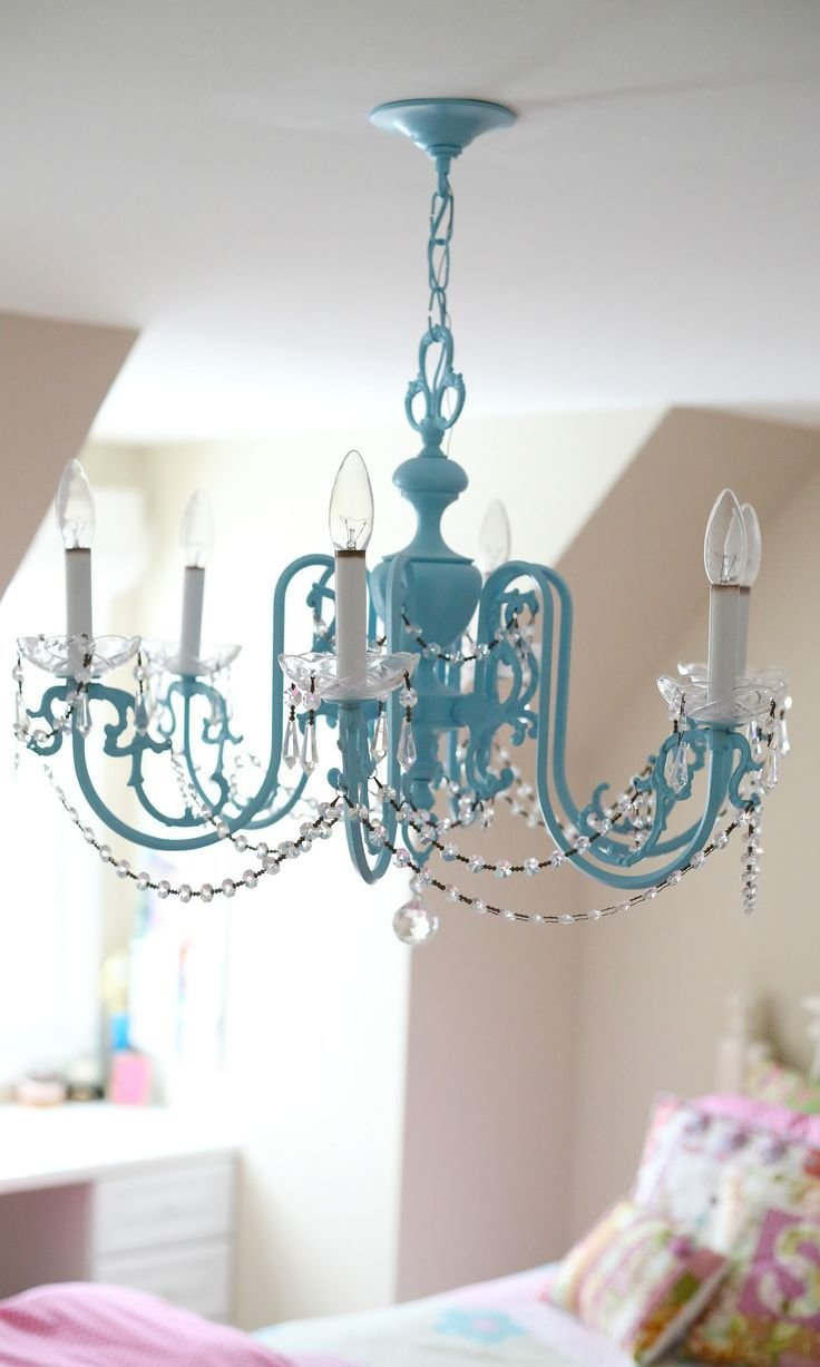 Best Lamp Create An Adorable Room For Your Little Girl With Chandelier For Girls Room — Tenchicha Com With Pictures