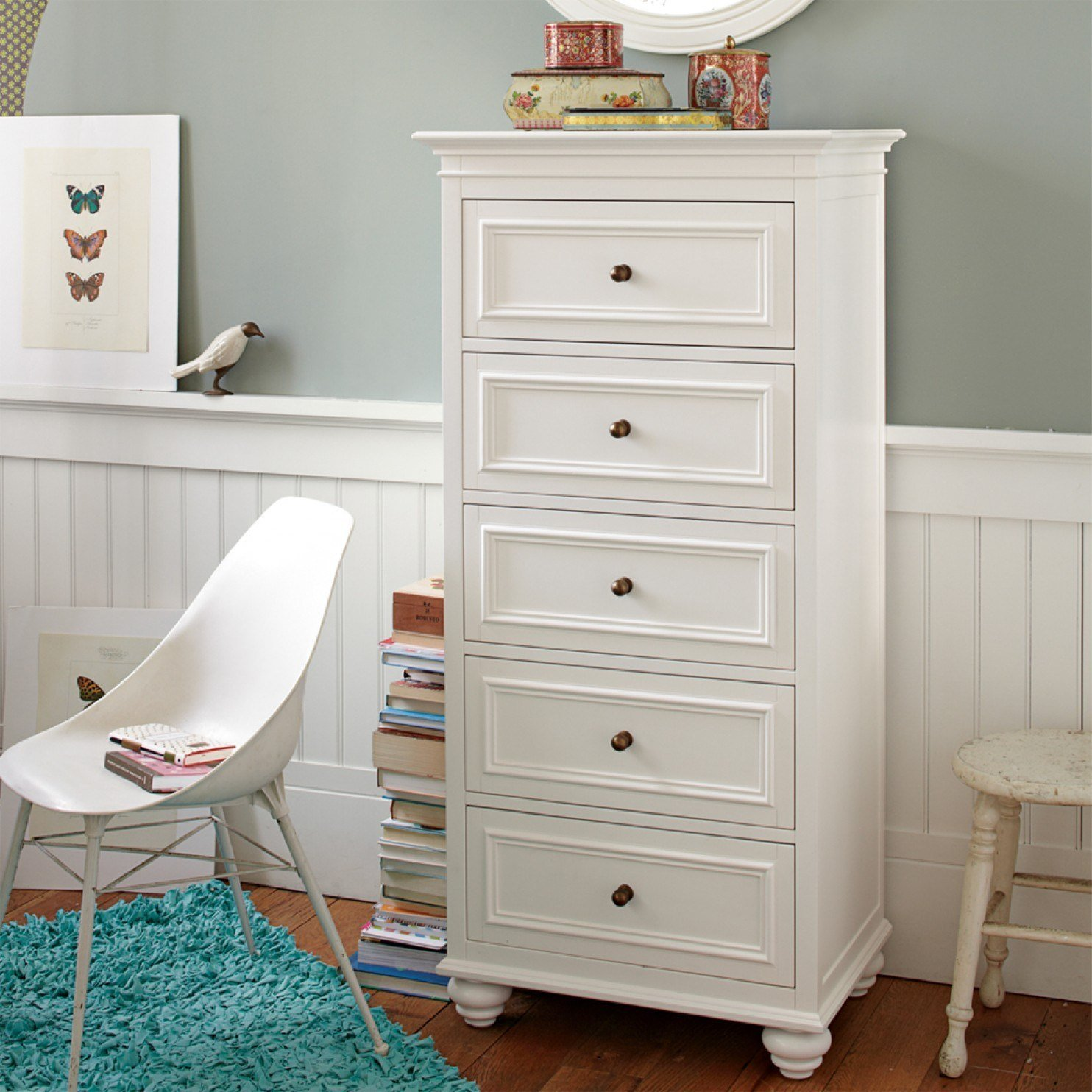 Best Furniture Modern Skinny Dresser For Contemporary Bedroom With Pictures