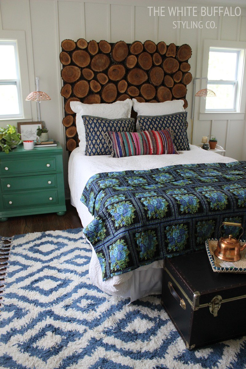 Best Diy Wood Round Headboard Thewhitebuffalostylingco Com With Pictures