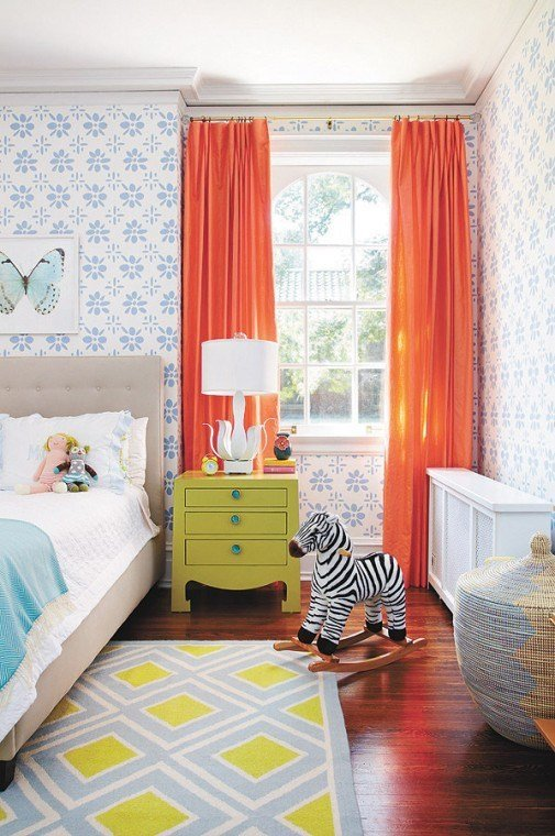 Best 8 Happy Colorful Rooms The Inspired Room With Pictures