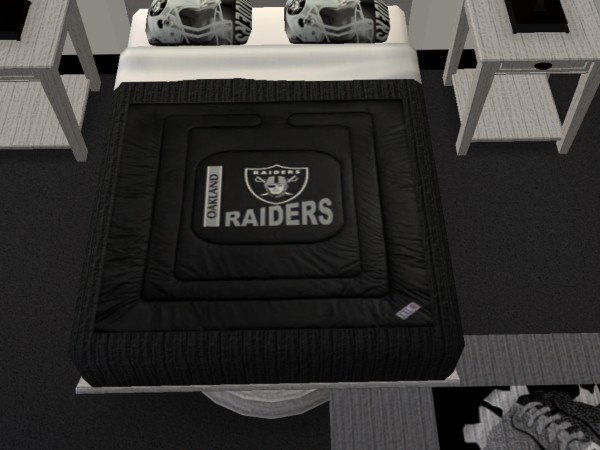 Best Mod The Sims Oakland Raiders Bedroom Requested With Pictures