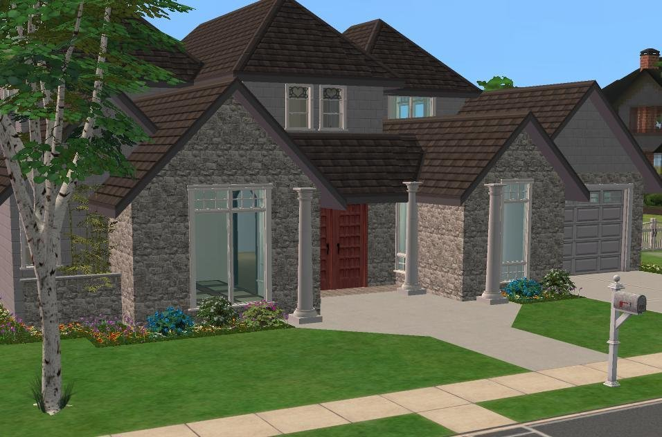 Best Mod The Sims 3 4 Bedroom House 35 989 Requested With Pictures