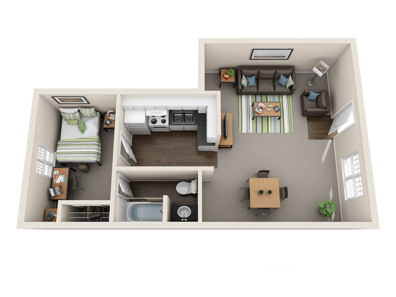 Best The Ranch Apartments Floor Plans Student Apartments At With Pictures