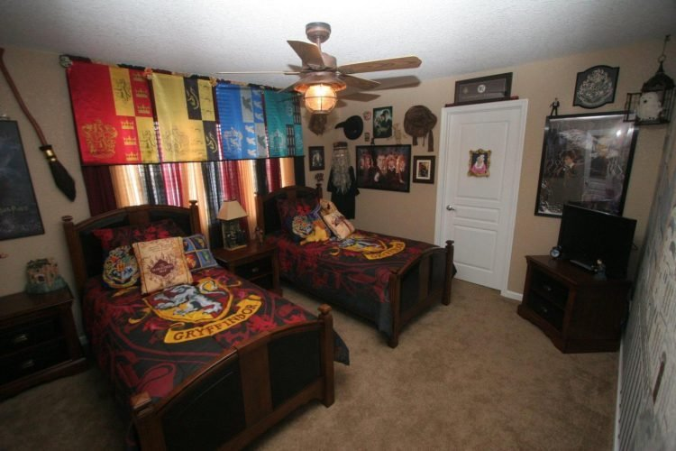 Best See The Magic World In The Room With Harry Potter Bedroom Atzine Com With Pictures