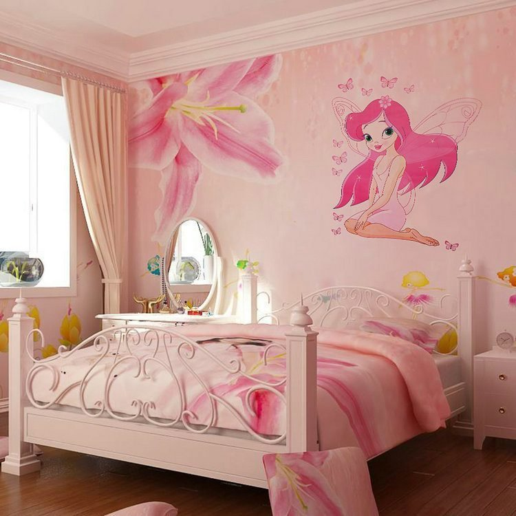 Best Adorable Wall Stickers For Girl Bedrooms Atzine Com With Pictures