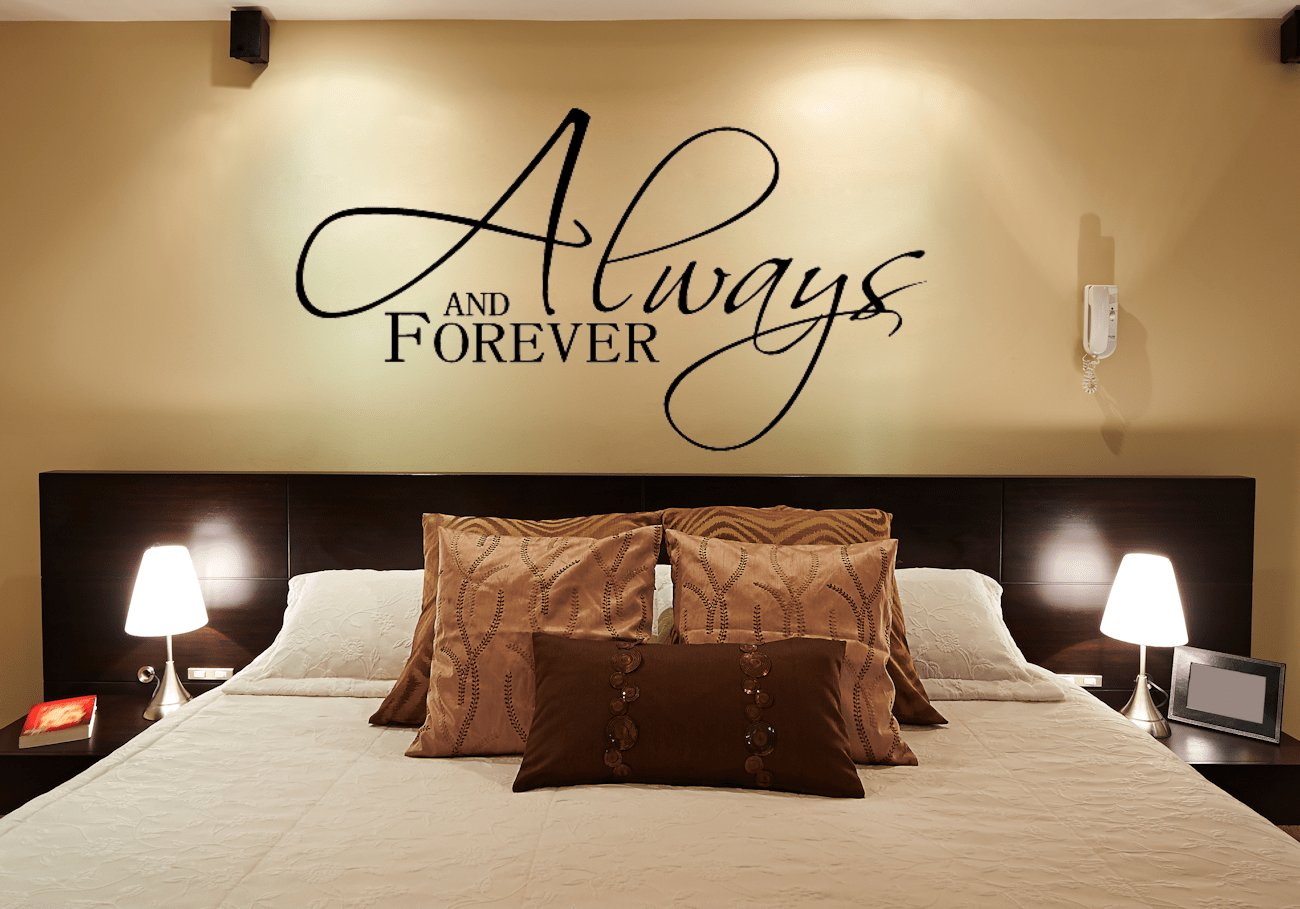Best Always And Forever Wall Decals For The Bedroom Wall With Pictures
