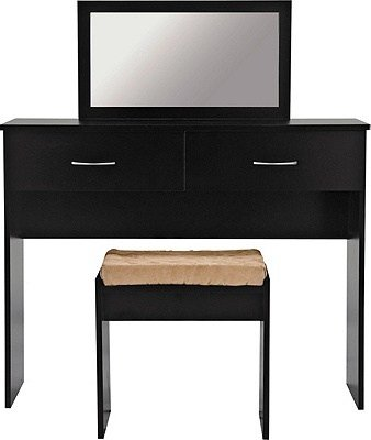 Best Buy Collection Cheval Dressing Table Stool And Mirror Black At Argos Co Uk Your Online Shop With Pictures