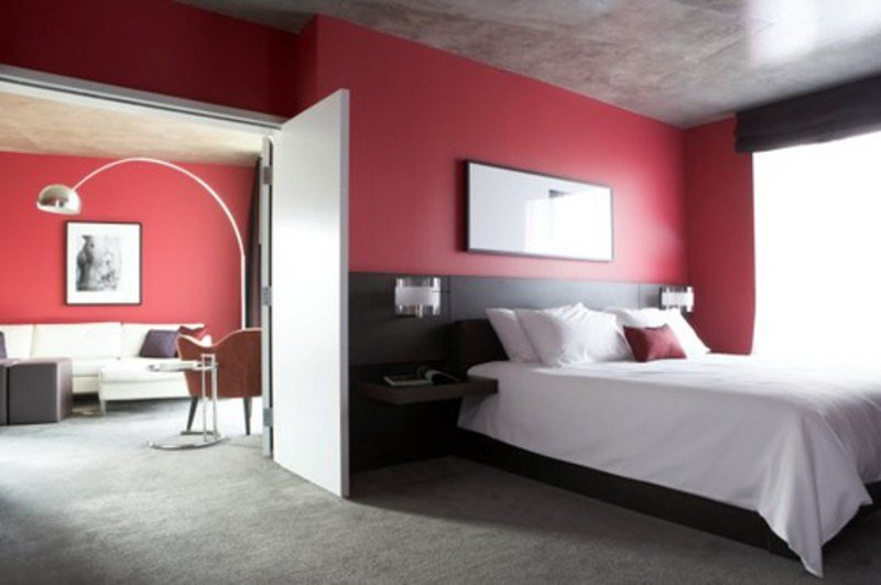 Best Integrating Red And Black In Your Bedroom With Red And With Pictures