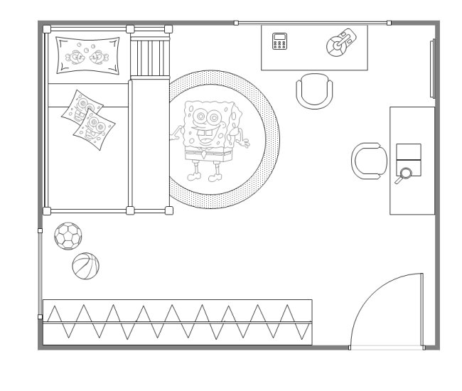 Best Kids Bedroom Layout Free Kids Bedroom Layout Templates With Pictures