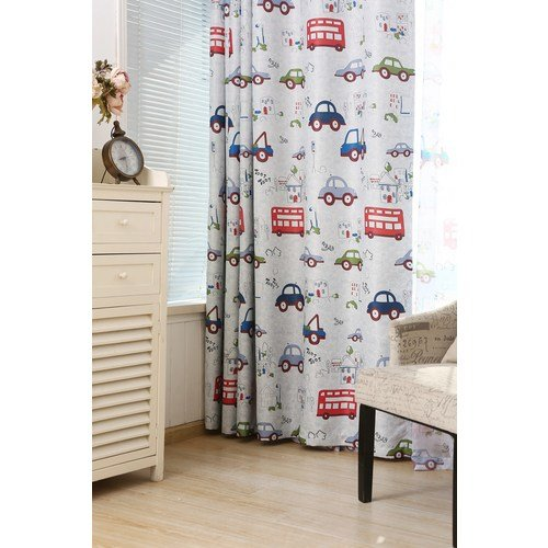 Best Top Bedroom Blackout Curtains Cartoon Cars Drapes Children With Pictures
