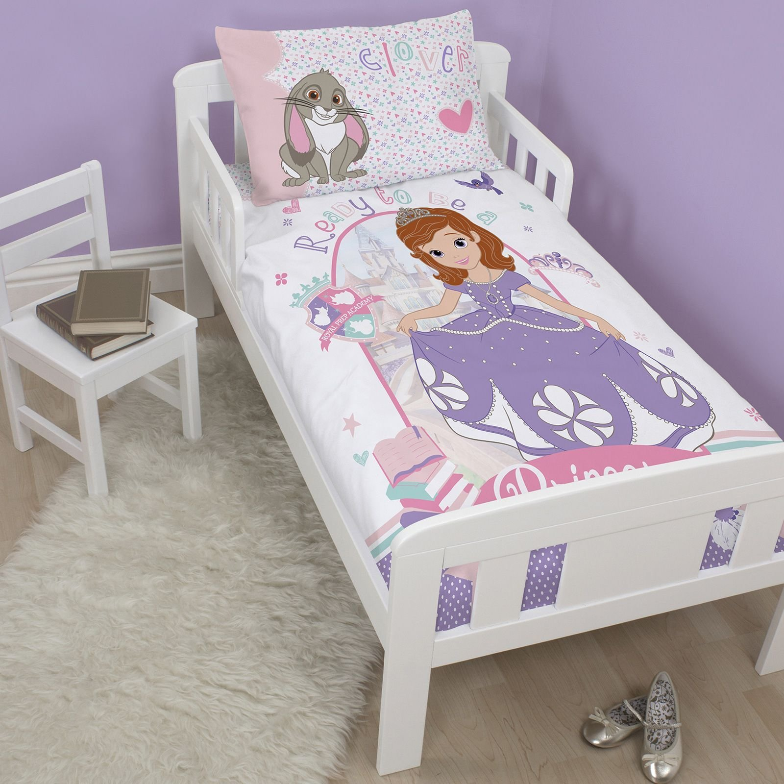 Best Disney Sofia The First Junior Cot Bed Duvet Cover Set New With Pictures
