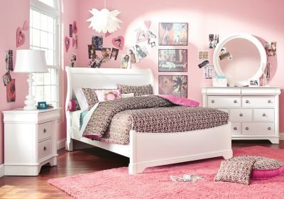 Best Oberon White 5 Pc Twin Sleigh Bedroom Bedroom Sets White With Pictures