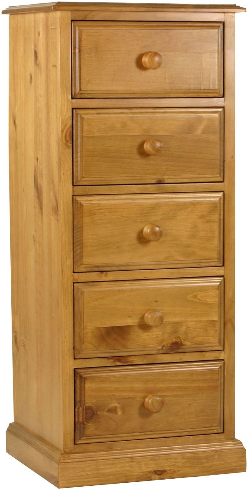 Best Primrose Solid Chunky Pine Bedroom Furniture Tallboy Chest With Pictures
