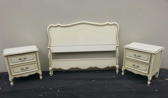 Best Vintage French Provincial Bed Set By Dixie By With Pictures