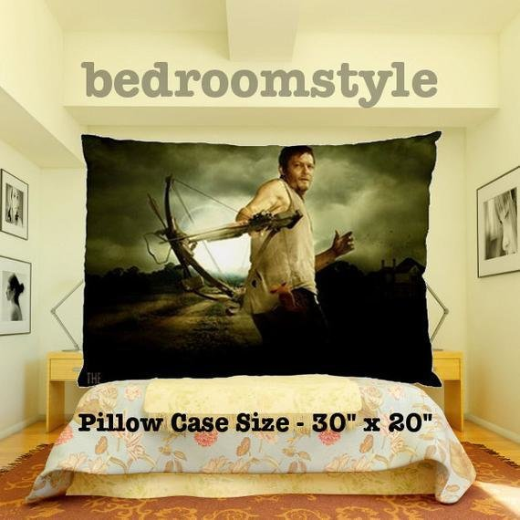 Best Walking Dead Daryl Dixon Pillow Case Cover Bedding By With Pictures