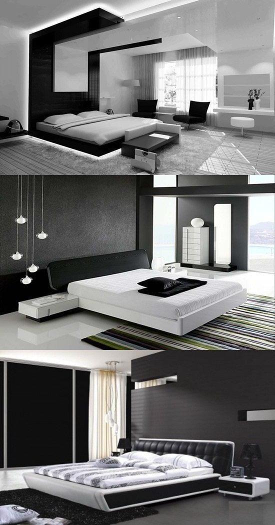 Best Modern Black And White Bedroom Design Ideas Interior Design With Pictures