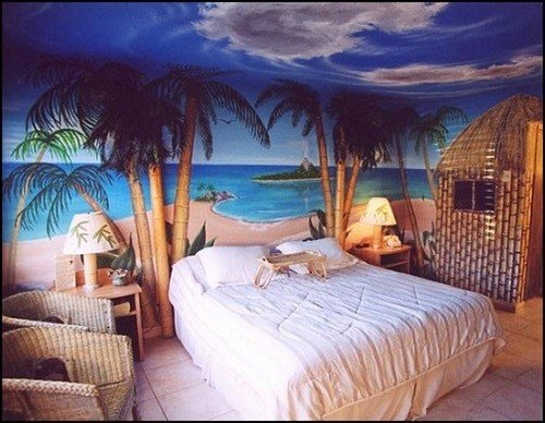 Best Tropical Theme Bedroom Decorating Ideas Interior Design With Pictures