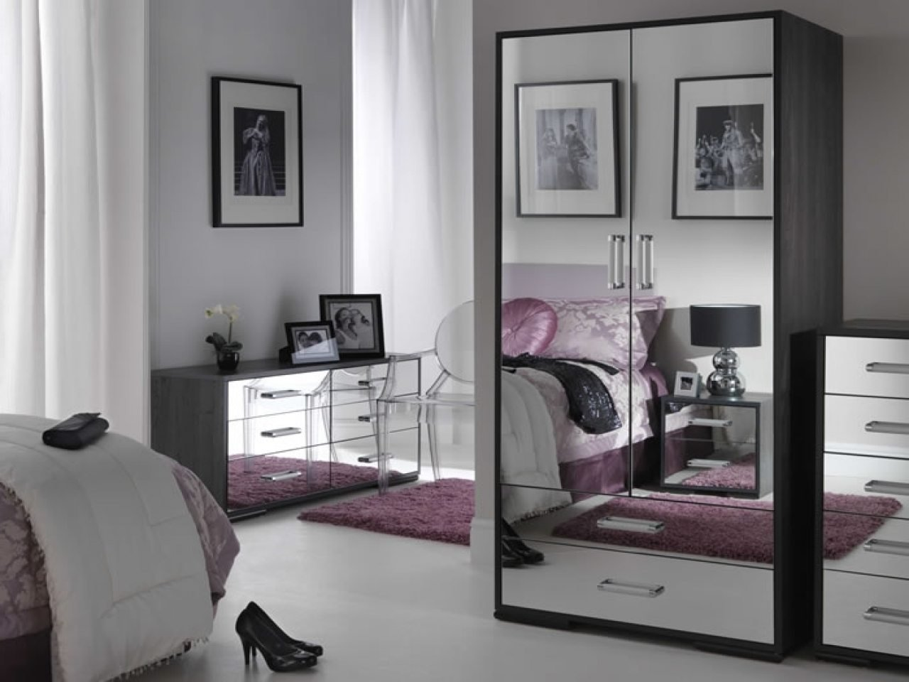 Best Mirrored Bedroom Set 28 Images Antique Silver Mirror Panel Bed Usa Furniture Gloria With Pictures