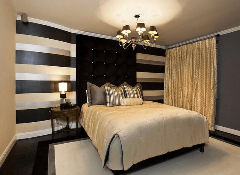 Best Black And Gold Bedroom Design Giving A Luxury Themed Bedroom Interior Exterior Ideas With Pictures