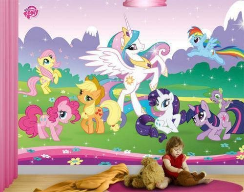 Best My Little Pony Wallpaper Ebay With Pictures