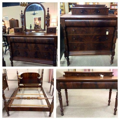 Best Antique Mahogany Bedroom Ebay With Pictures