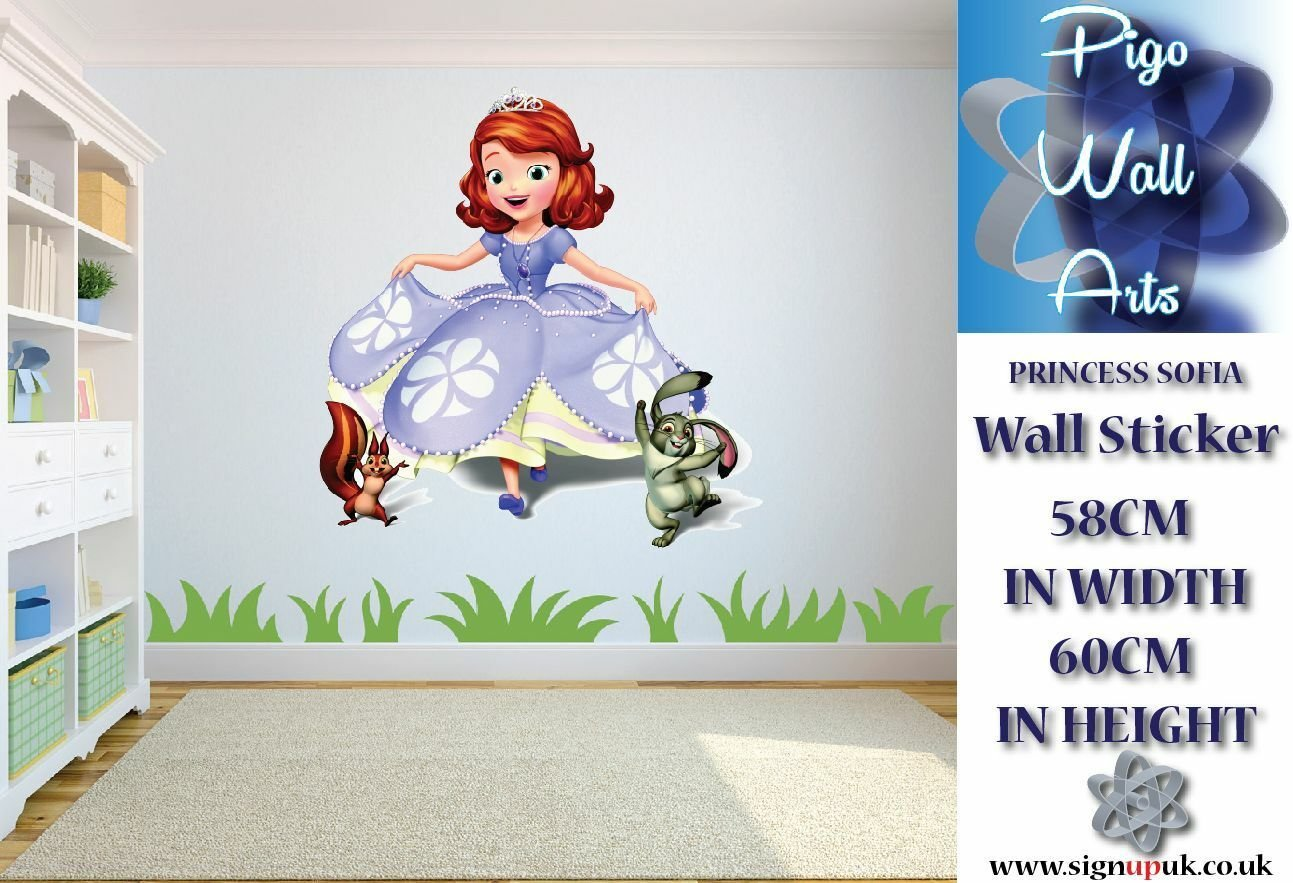 Best Disney Princess Sofia Children S Bedroom Wall Sticker With Pictures
