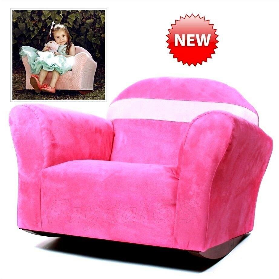 Best Kids Furniture Rocking Chair Pink Girl Wooden Bedroom Seat With Pictures
