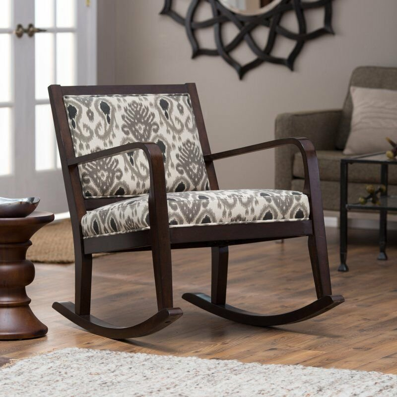 Best Belham Living Ikat Rocking Chair Bedroom Fruniture Family With Pictures