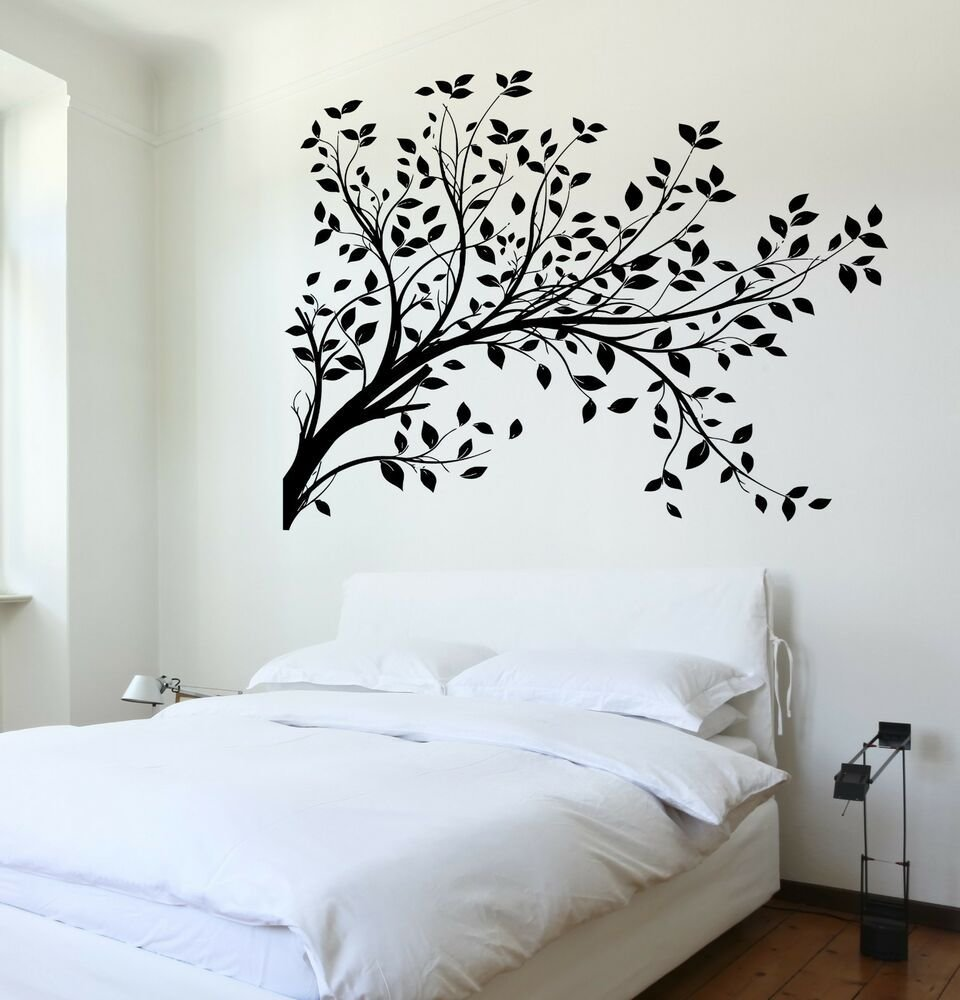 Best Wall Decal Tree Branch Cool Art For Bedroom Vinyl Sticker With Pictures