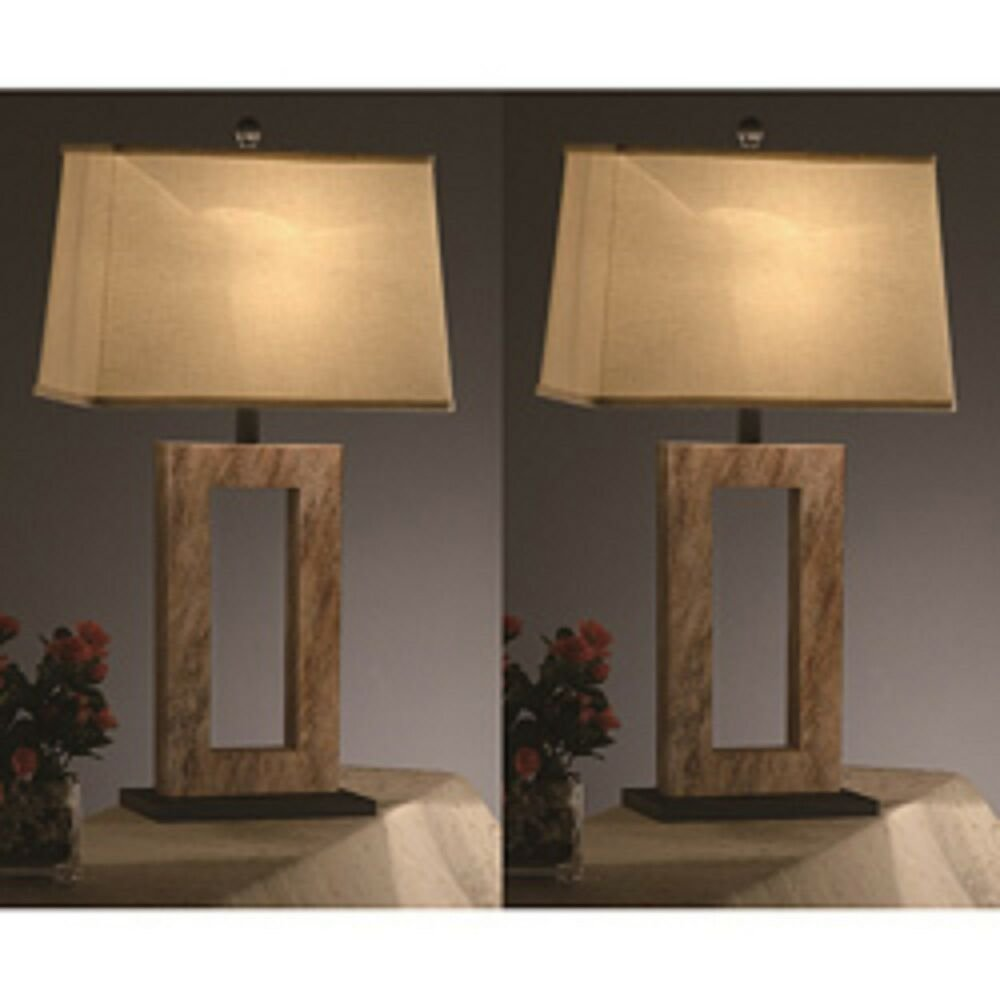 Best Elegant 31Inch Table Lamps Set Of 2 Nightstand Lamps With Pictures