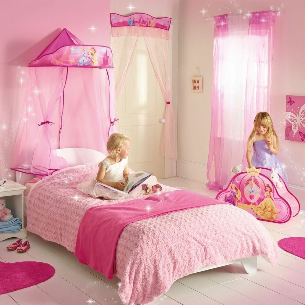 Best Disney Princess Hanging Bed Canopy New Girls Bedroom Decor With Pictures Original 1024 x 768