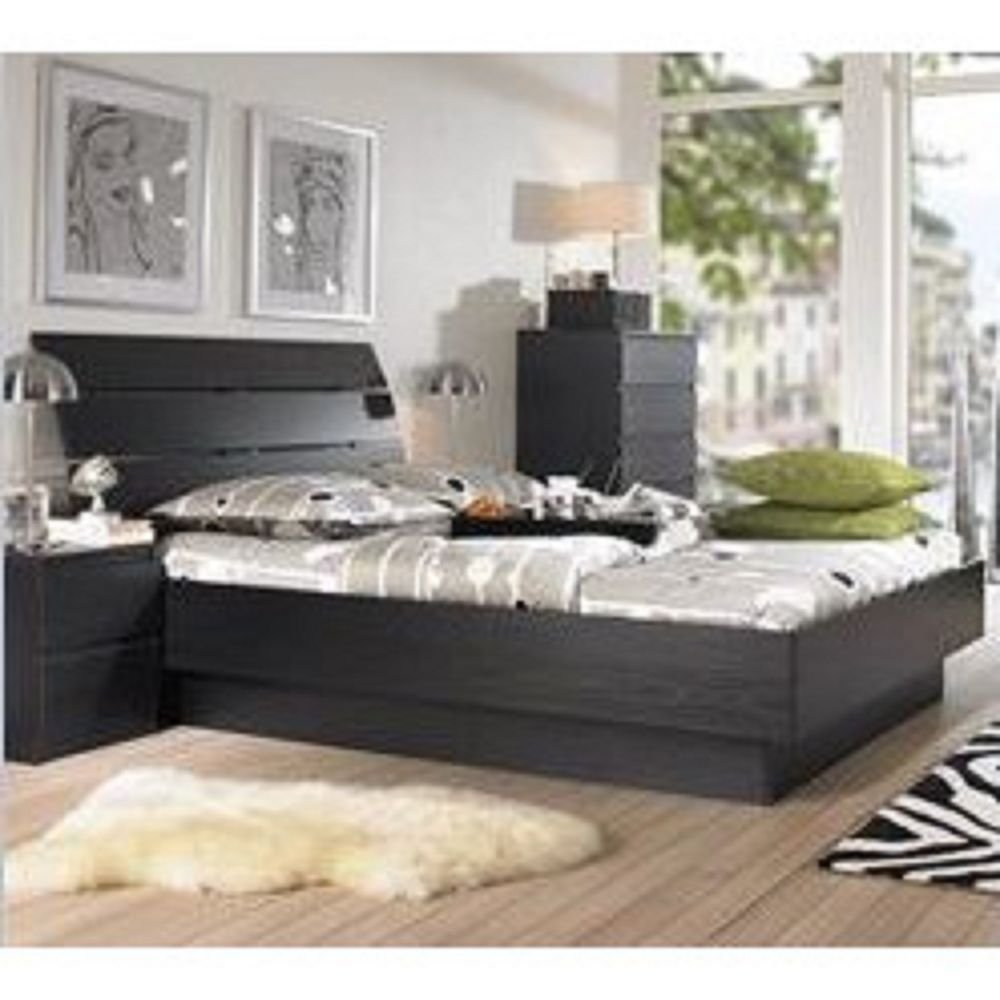 Best 5 Piece Queen Bedroom Furniture Set Headboard Bed Dresser With Pictures