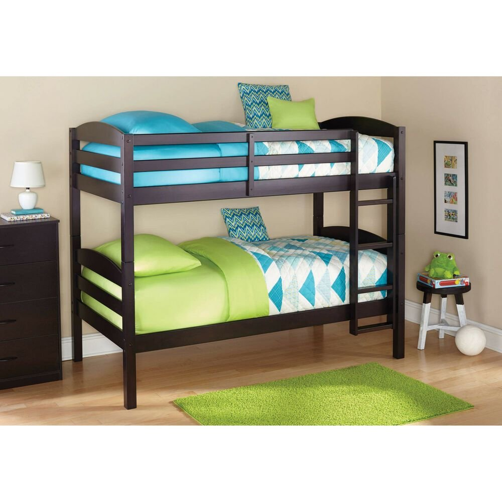 Best Bunk Beds Twin Over Twin Kids Furniture Bedroom Ladder With Pictures