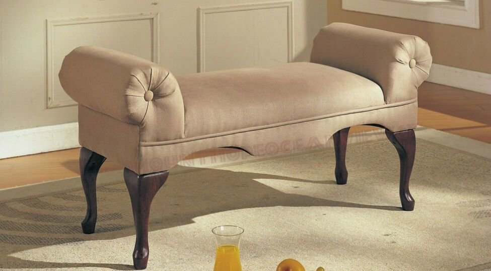 Best Upholstered Bench With Arms Rolled Occasional Chairs Task With Pictures
