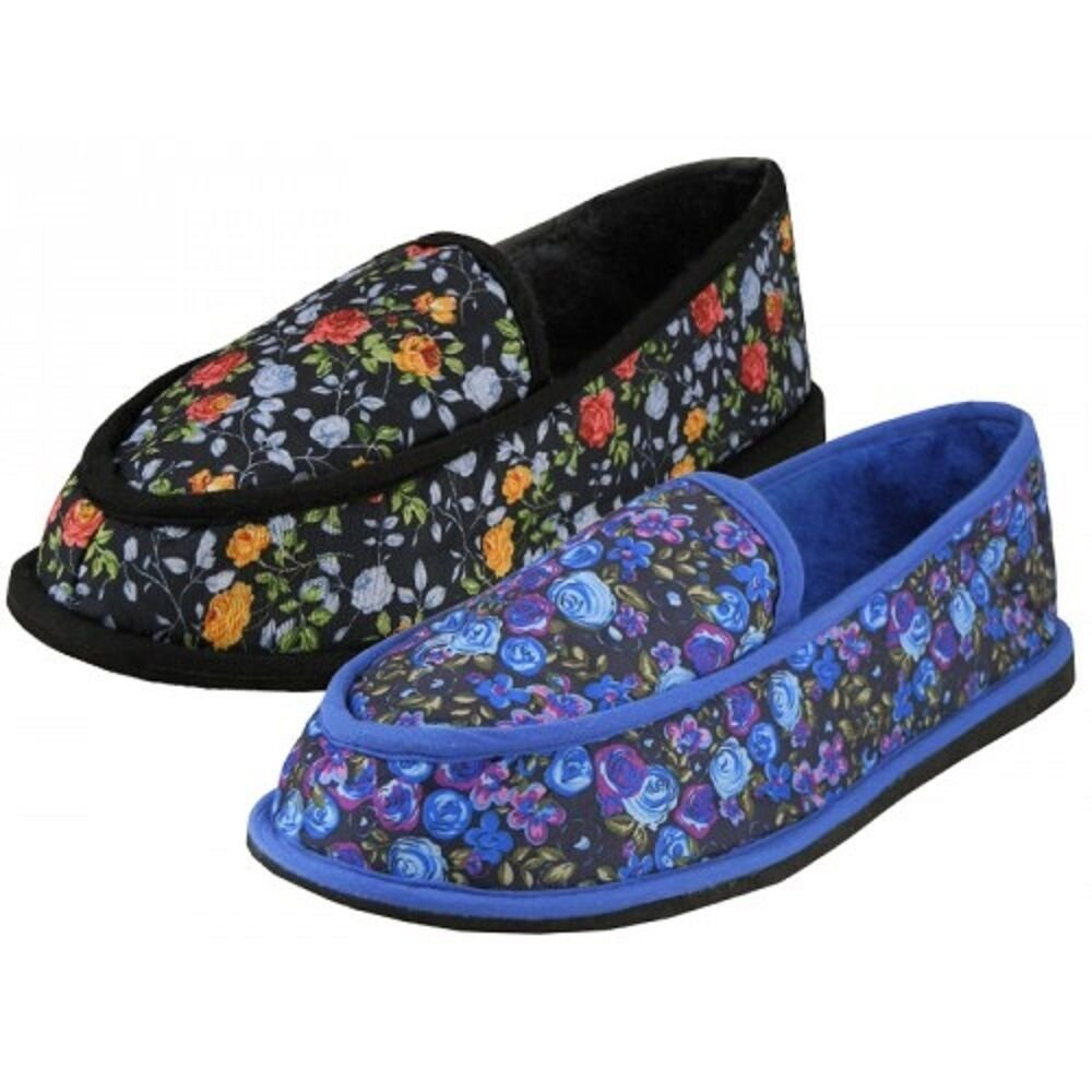 Best Women S Printed Close Back Bedroom Slippers Indoor Shoes With Pictures
