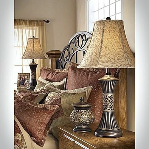 Best Pair Of 2 Table Lamps Shade Light Bedroom Nightstand Lamp With Pictures