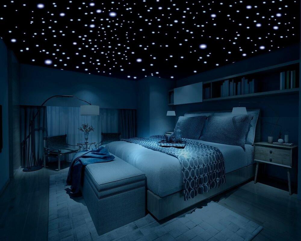 Best Glow In The Dark Stars 600 Stars 3D Self Adhesive Domed With Pictures