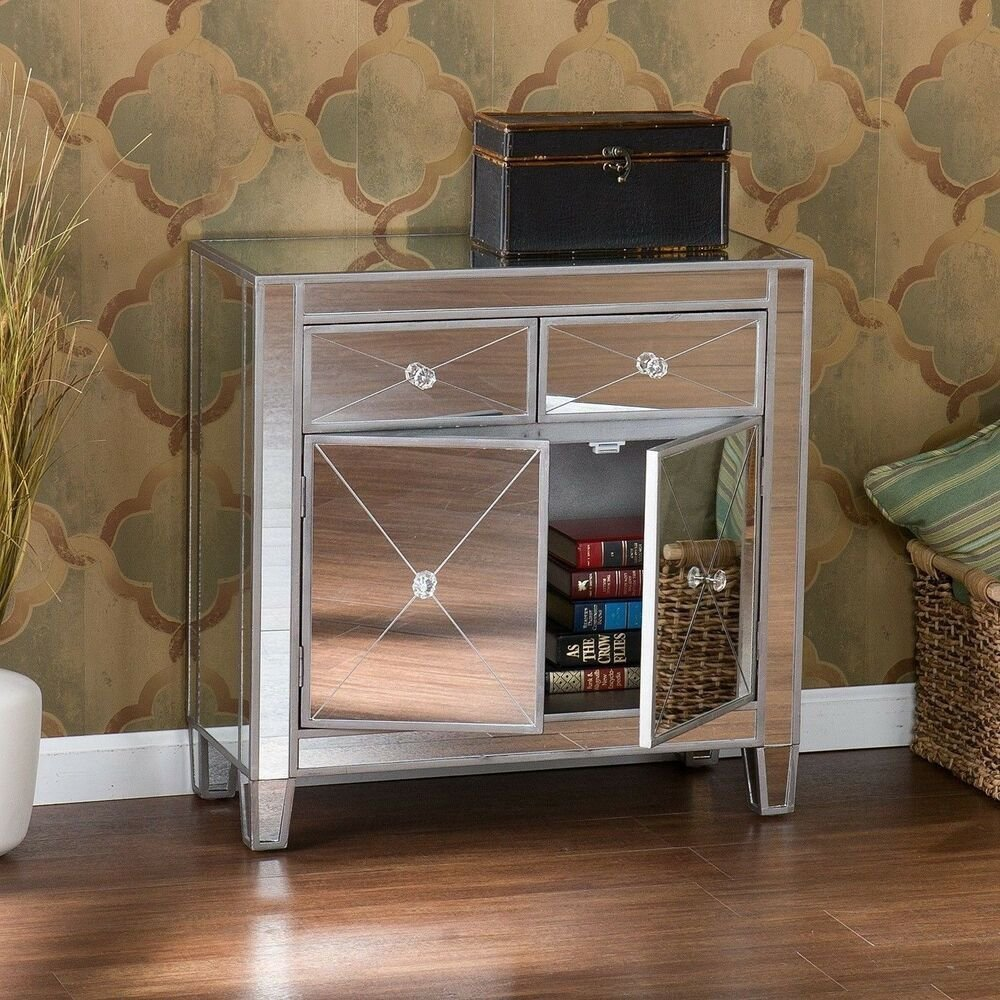 Best Glam Mirrored Dresser Bedroom Chest Drawers Furniture With Pictures