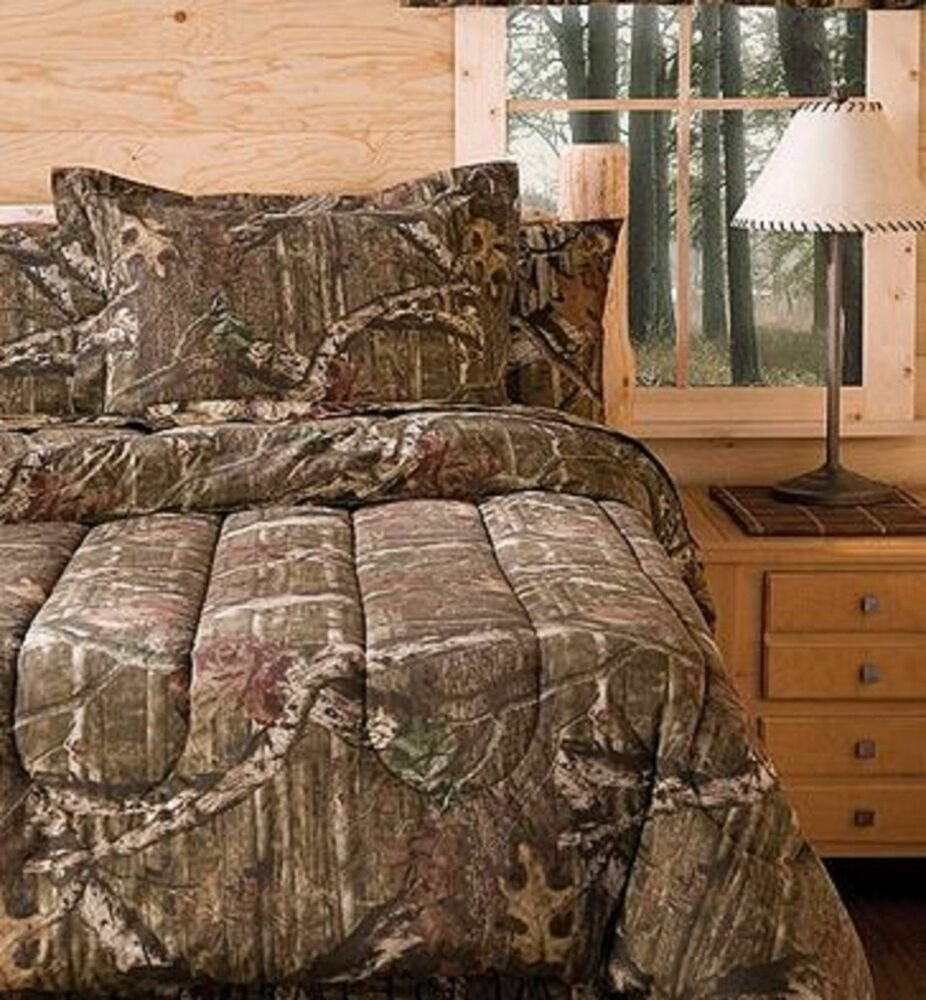 Best Brand New Camo Mossy Oak Infinity Hunting Bedding With Pictures