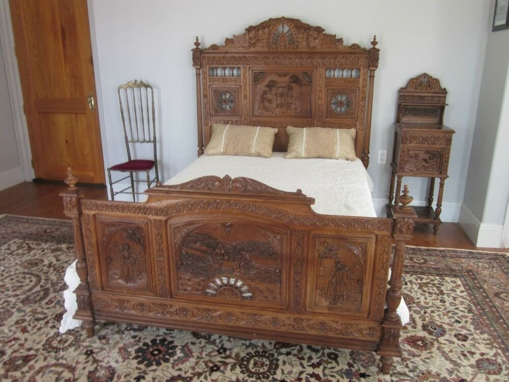 Best Antique Bedroom Furniture Ebay With Pictures