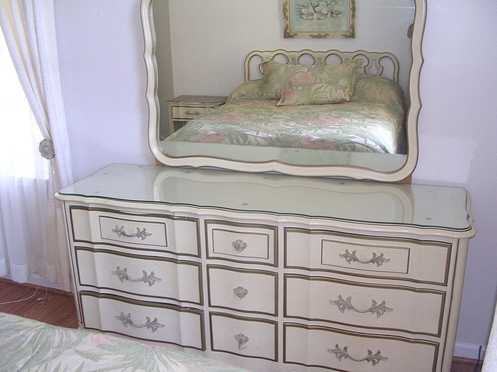 Best 5 Piece French Provincial Bedroom Set Thomasville Ebay With Pictures